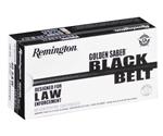 Remington Golden Saber Black Belt 40 S&W Ammo 180 Grain JHP