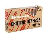 Hornady Critical Defense 308 Winchester Ammo 155 Grain FTX