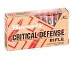 Hornady Critical Defense 223 Remington Ammo 73 Grain FTX