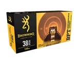 Browning 38 Special Ammo 130 Grain Full Metal Jacket