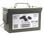 Federal American Eagle 223 Remington Ammo 55 Grain FMJ 500 Rounds in Ammo Can