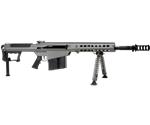 "Barrett M107 A1 50 BMG Semi-Auto Rifle 20"" Fluted Barrel 10+1 Rounds Fixed Metal Gray Stock Gray Cerakote/Black Parkerized"
