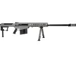"Barrett M107 A1 50 BMG Semi-Auto 29"" Barrel 10+1 Rounds Fixed Metal Gray Stock Gray Cerakote/Black Parkerized"