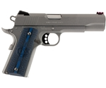 "Colt 1911 Competition 70 Series 9mm Luger Semi-Auto 5"" Barrel 9+1 Rounds Blue G10 Stainless Steel"