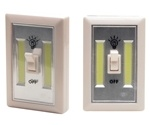 Cyclops Light Switch 200 Lumens AAA (3) White 2 Pack