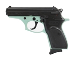 "Bersa Thunder 380 380 ACP Auto Semi-Auto 3.5"" Barrel 8+1 Rounds Robin Egg Blue Frame/Black Stainless Steel"
