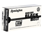 Remington Golden Saber Black Belt 9mm Luger Ammo 124 Grain BJHP
