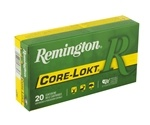 Remington Core-Lokt 6.5 Creedmoor Ammo 140 Grain Pointed Soft Point
