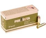 Perfecta 38 Special Ammo 158 Grain Full Metal Jacket
