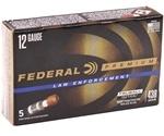 "Federal Law Enforcement 12 Ga Ammo 2-3/4"" Tactical TruBall Deep Penetrator Slug"