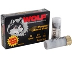 "Wolf 12 Gauge Ammo 2 3/4"" 00 Power Buckshot 9 Pellets"