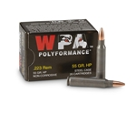 Wolf Performance 223 Remington Ammo 55 Grain Jacketed Hollow Point