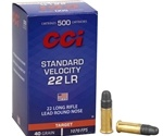 CCI Standard Velocity 22 Long Rifle 40 Grain Lead Round Nose
