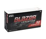 CCI Blazer 38 Special Ammo 158 Grain +P Total Metal Jacket