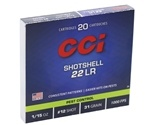 CCI 22 Long Rifle 31 Grain #12 Shotshell