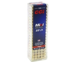 CCI Mini-Mag High Velocity 22 Long Rifle 40 Gr Copper Plated RN