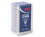 CCI Maxi-Mag 22 WMR Ammo 40 Grain Total Metal Jacket