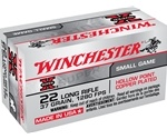Winchester Super-X 22 Long Rifle 37 Grain PLHP