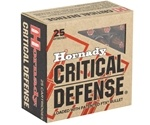 Hornady Critical Defense 9mm Luger Ammo 115 Grain FTX
