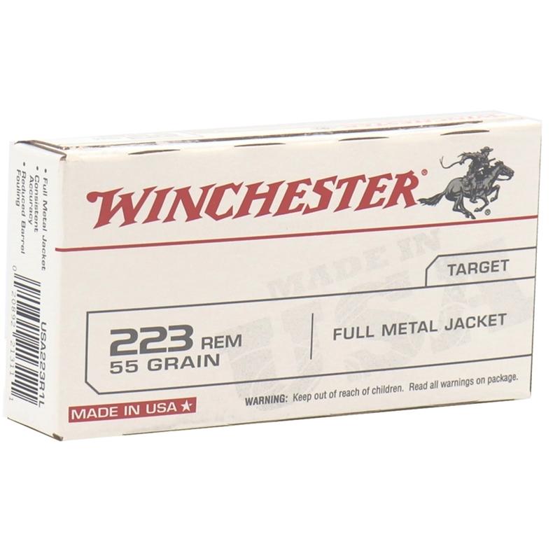 Winchester USA 223 Remington 55 Grain Full Metal Jacket