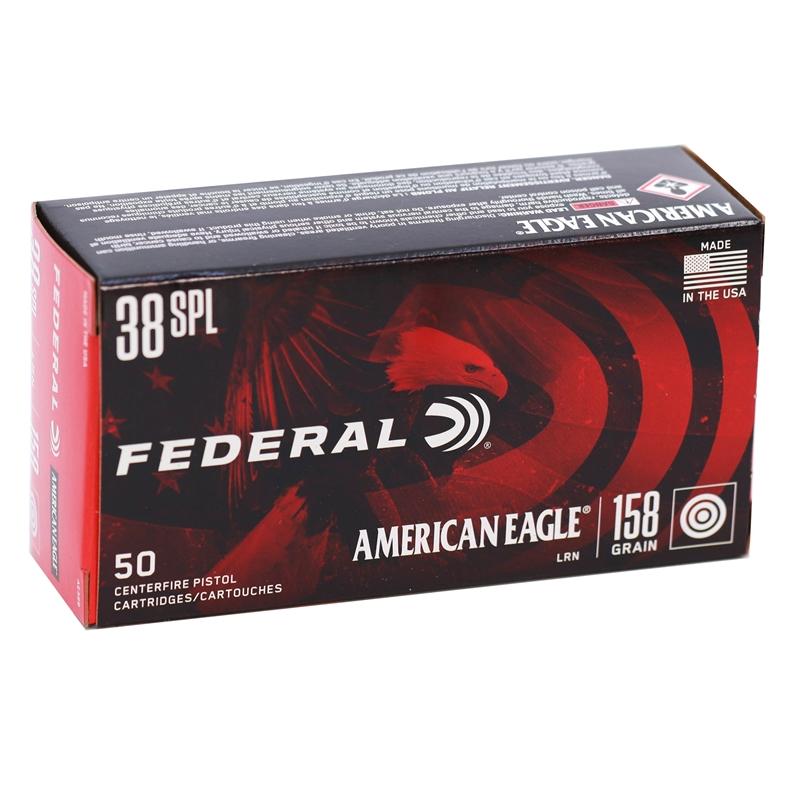 Federal American Eagle 38 Special 158 Grain LRN