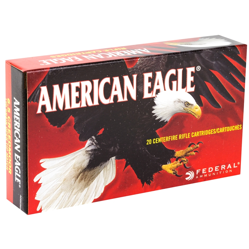 Federal American Eagle 6.5 Creedmoor Ammo 120 Grain OTM