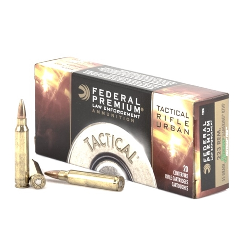 Federal Law Enforcement TRU 223 Remington Ammo 55 Grain SGK HP