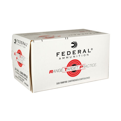 Federal RTP 22 Long Rifle Ammo 40 Grain Copperplated Round Nose