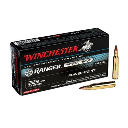 Winchester Ranger 223 Remington 64 Grain Power Point