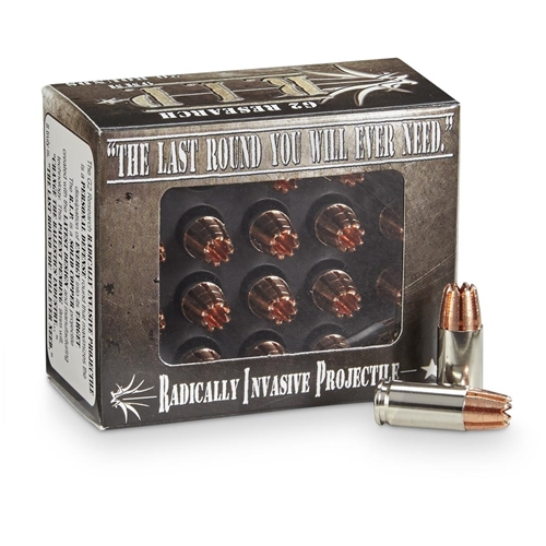 G2R RIP 9mm Luger Ammo 92 Grain HP Lead-Free