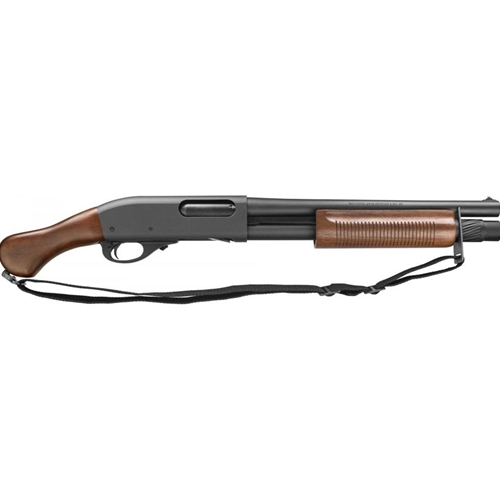 "Remington 870 12 Gauge TAC-14 Pistol Grip Firearm 3"" 6-Round 14"" Barrel Cylinder Bore Matte Hardwood"