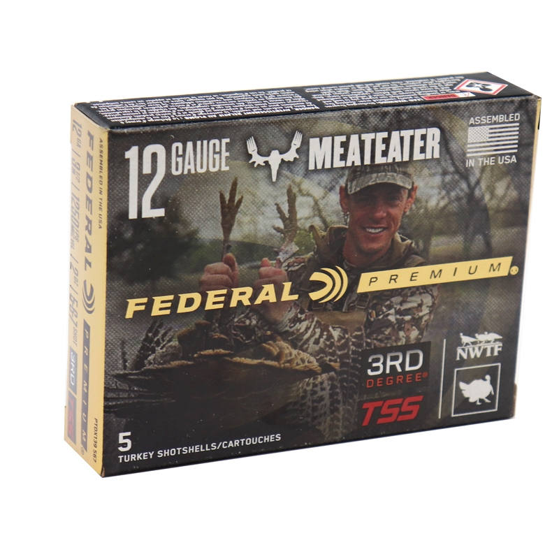 "Federal Premium 3rd Degree HEAVYWEIGHT Turkey 12 Gauge 3.5"" 2 oz #5,6,7 Shot"