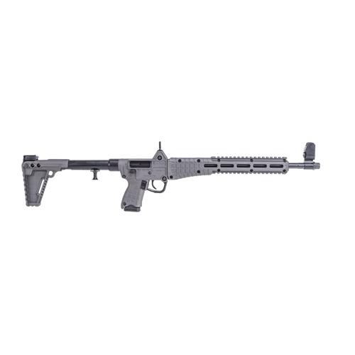 "Kel-Tec Sub 2000 G2 Glock 17 9mm Luger Semi-Auto 17+1 Rounds 16.1"" Barrel Tungsten"