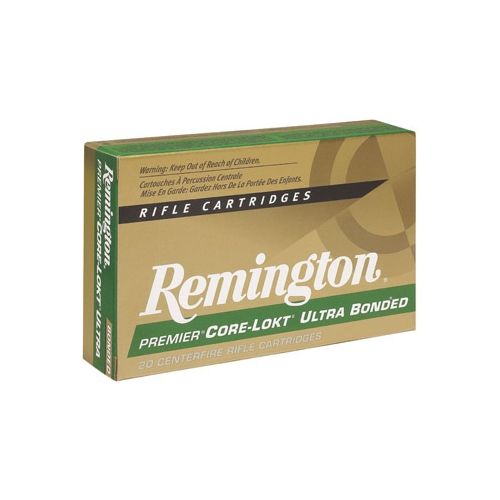 Remington Premier 223 Remington Ammo 62 Grain Core-Lokt Ultra Bonded