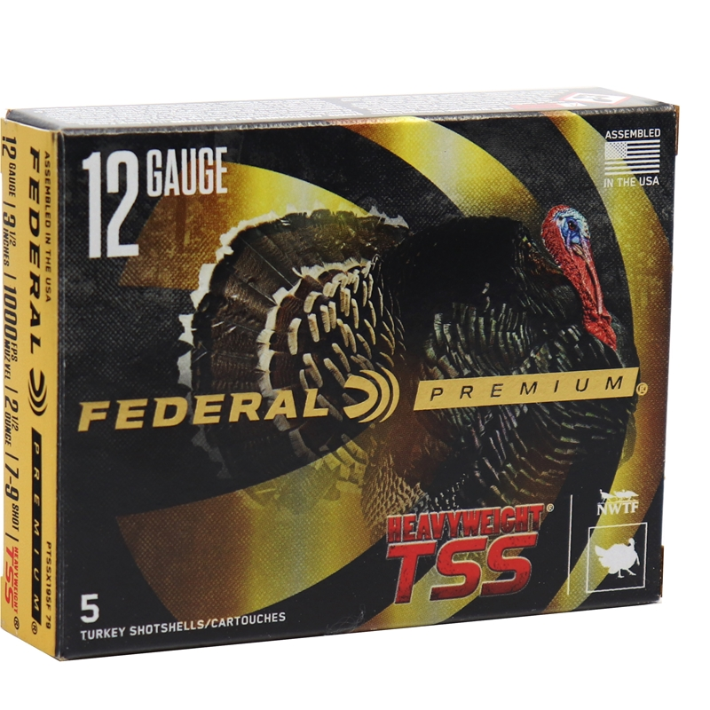 "Federal HEAVYWEIGHT TSS Flightcontrol Flex 12 Gauge Ammo 3.5"" #7/9 Combo, 2 1/2oz"