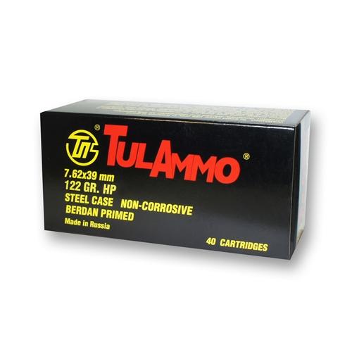 Tula Ammo 7.62x39mm 122 Grain Hollow Point