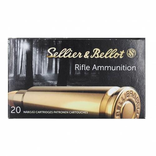 Sellier & Bellot 222 Remington Ammo 50 Grain SP