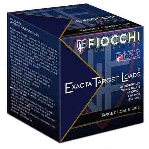 "Fiocchi Exacta Target .410 Bore Ammo 2.5"" #7.5 Lead 250 Rounds"