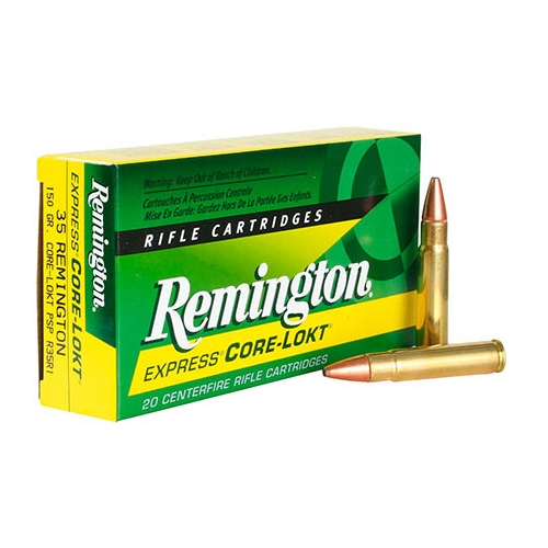 Remington Express 35 Remington Ammo 150 Grain Core-Lokt Soft Point Projectile