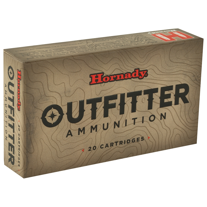 Hornady Outfitter 308 Winchester Ammo 165 Grain GMX Lead Free