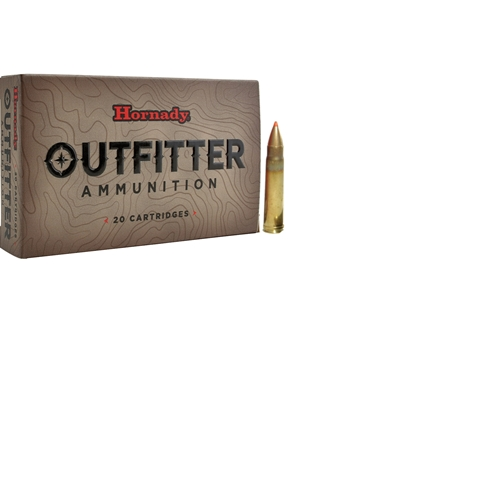 Hornady Outfitter 375 H&H Magnum Ammo 200 Grain GMX Lead-Free