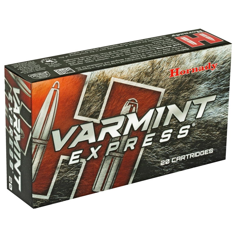 Hornady Varmint Express 6.5 Creedmoor Ammo 95 Grain V-Max