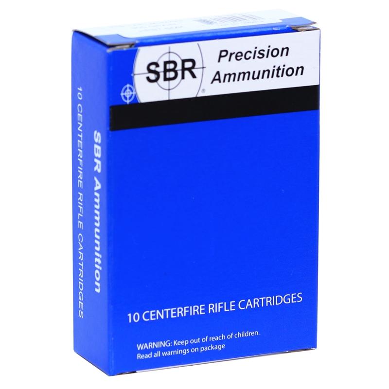 SBR 338 Lapua Magnum Ammo 300 Grain Sierra MatchKing