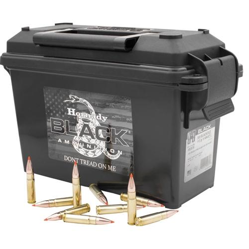 Hornady Black 300 AAC Blackout Ammo 110 Grain V-Max
