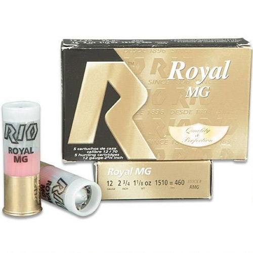 "Rio 12 Gauge Royal MG Slug Ammo 2 3/4"" 1 1/8 oz Armored Slug"
