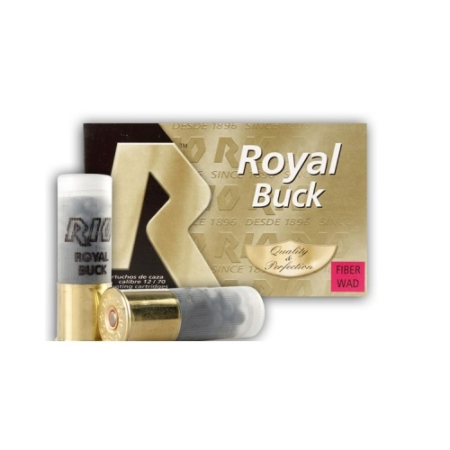"Rio 12 Gauge Royal Ammo 2 3/4"" #4 Buckshot 21 Pellets"