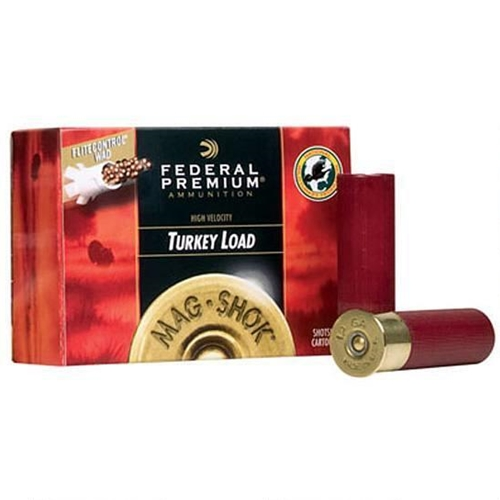 "Federal Premium Mag-Shok 12 Gauge Ammo 3"" 1-3/4 oz #6 Copper Plated Shot High Velocity"