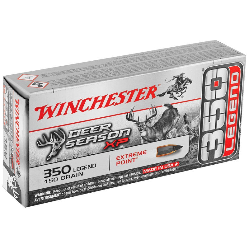 Winchester 350 Legend Ammo 150 Grain Extreme Point Deer Season