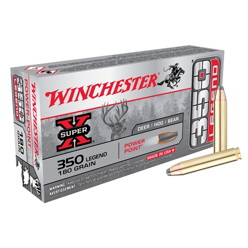 Winchester 350 Legend 180 Grain Power-Point Super