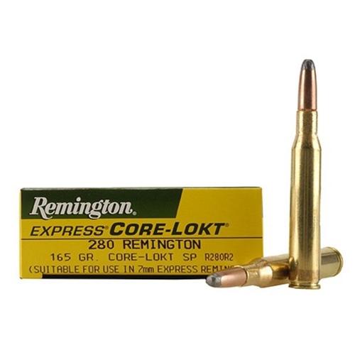 Remington Express 280 Remington Ammo 165 Grain Core-Lokt Soft Point Projectile